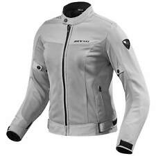 REVIT ECLISSI Donna Motociclista Giacca in tessuto Touring - Argento