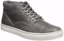 Timberland Men's Adventure Casual High Top Sneakers Chukka Boot Grey Leathe