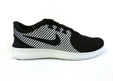 Nike men's Free RN Commuter running shoes sneakers trainers Black White