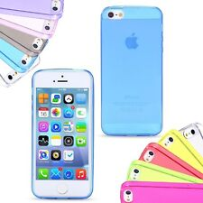 Ultra Slim Lightweight TPU Silicone Back Case Cover for iPhone 5C