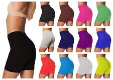 Ladies Cycling Shorts Gym Dancing Zumba Cotton Short Pants Active Casual Shorts