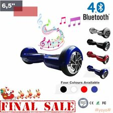 """6.5"""" HOVERBOARD Scooter Elettrico + Bluetooth SELF BALANCING SMARTBOARD WO"""