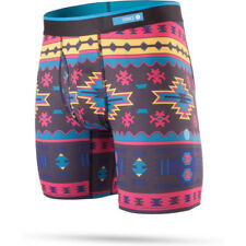 Stance The Boxer Brief Poly Blend Mens Underwear Shorts - Station Black