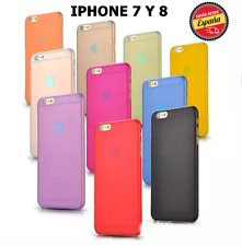 FUNDA CARCASA PP SILICONA RIGIDA VARIOS COLORES ULTRA THIN FINA IPHONE 7 / 8