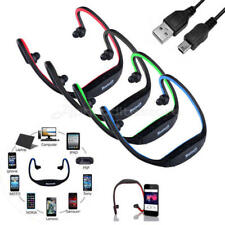 Sport Wireless Bluetooth Stereo Auricolari Cuffie Headset per Iphone Samsung
