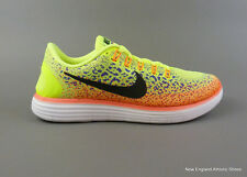 Nike men's Free RN Distance running shoes sneakers trainers Volt Black Oran
