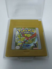 pokemon Edicion oro GOLD  game boy color GBA.New en Ingles
