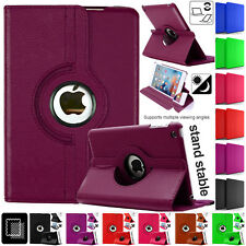 Stand Magnetic Smart LEATHER Flip Book Cover Case For Apple iPad Air 2 iPad Air