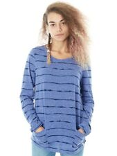 Camiseta manga larga mujer Animal Sea Legs Dusty Azul Marl