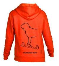 Blood Hound, Dog Breed Pullover Hoodie, Exclusive Dogeria Design Adult Sizes