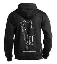 Chinese Crested, Dog Breed Pullover Hoodie, Dogeria Design  Adult Sizes
