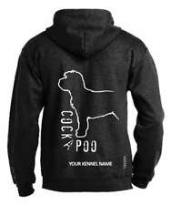 Cockapoo Dog Breed Pullover Hoodie, Exclusive Dogeria Design Adult Sizes