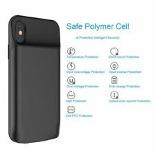 6000mAh Smart Battery Case for iPhone X Rechargeable Portable Bank Cha