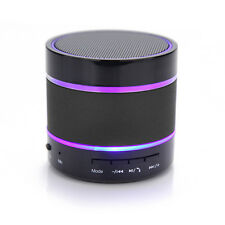 Portatile Mini Bluetooth Wireless Altoparlante supporto radio FM CON LED