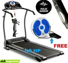 New! 2018 1.0HP MOTOR Folding Treadmill MANUAL INCLINE FOLDING RUNNING MACHINE