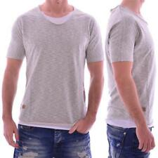 Red Bridge Jeans M 1111 Redbridge Herren Männer T-Shirt double layer grau grey