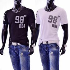 Red Bridge Jeans M 1011 Redbridge Herren Männer T-Shirt schwarz weiß black white