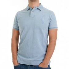 Ralph Lauren Camiseta Polo Hombre - Tonal BIG PONY - LIGHT INDIGO