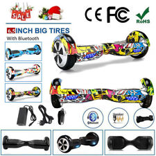 """6.5""""8"""" Hoverboard Bluetooth Patinete Electrico Self Balancing LED Scooter BOLSO"""
