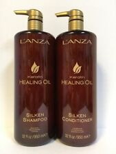 Lanza Keratin Healing Oil Shampoo 32 OZ and Conditioner 32 oz FAST SHIPPING