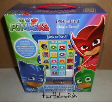 PJ MASKS ELECTRONIC ME READER LOOK AND FIND 8 BOOK LIBRARY ACTIVITY PAD SET