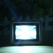 10W USB Solar Power LED Flood Night Lights Garden Waterproof Outdoor 800LM