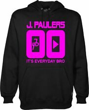 JPAULERS IT'S EVERYDAY BRO HOODIE JAKE PAUL YOUTUBER Pink Print Hoody HOOD Kids