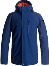 QUIKSILVER MISSION SOLID JACKET ESTATE BLU