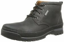 CLARKS hommes NARLY HILL GTX NOIR Wlined Lea ACTIVE AIR UK 10.5, 11,12 G