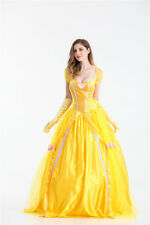 LA Bella e La Bestia  Vestito Carnevale Donna Belle costume dress