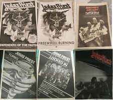 JUDAS PRIEST - copy of ADVERT / SMALL POSTER defenders of the faith free wheel