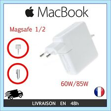 CHARGEUR PRISE MACBOOK PRO AIR RETINA PRISE EMBOUT MAGSAFE 1 / 2 60W 85W WATT