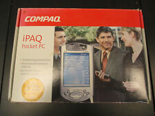 A Pre-owned COMPAQ iPAQ (H3970) Pocket PC. 64K Display . Boxed. Instructions.