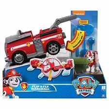 Paw Patrol Mission Paw Flip and Fly Vehicle Marshall Rubble Chase Skye Selected