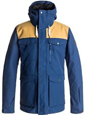 QUIKSILVER RAFT JACKET ESTATE BLUE