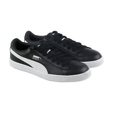 Puma Basket Classic Lfs Mens Black Leather Lace Up Lace Up Sneakers Shoes