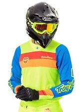 Maillot Motocross Troy Lee Designs 2017 SE Air Corsa Fluorescent Jaune