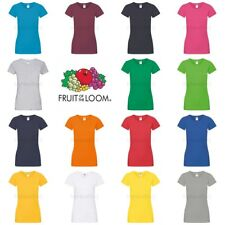 Fruit of the Loom Womens Lady-Fit Sofspun T-Shirt