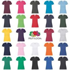 Fruit of the Loom Womens Lady-Fit Valueweight T-Shirt