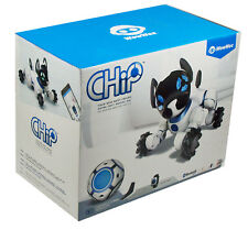 WowWee Chip Robot Pup Dog Bluetooth Interactive Toy White 0805 New Free Shipping