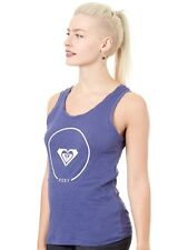 Camiseta sin mangas mujer Roxy Billy Twist Essential Deep Cobalt