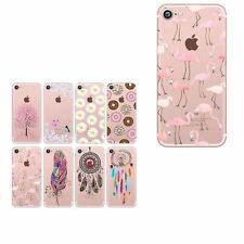 Stock Soft TPU Silicone Phone Case Cover For Samsung & iPhone 7 6 6s Plus 5s