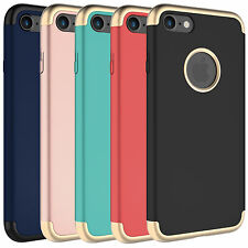 Zeox [Electro] Slim Hard Cover Rubberized Protective Case for iPhone 7