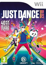 Just Dance 2018 (Nintendo Wii) NEW SEALED PAL