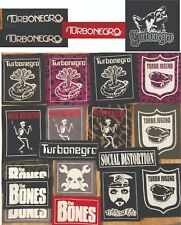 TURBONEGRO SOCIAL DISTORTION THE BONES TURBO patches  punk rock n roll