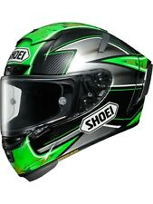 Casco moto Shoei Eugene Laverty X-Spirit 3 TC-4 Verde