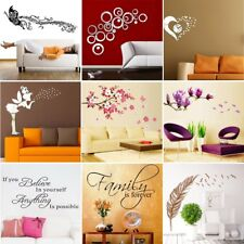 Family Room DIY Removable Wall Stickers Decal Art Vinyl Mural Home Decor Hot LER