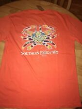 Southern Fried Cotton graphic tee Southern Folk Crab  BNWTs