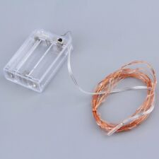 3M 30LED Copper Wire Xmas Party String Fairy Light Battery Operated Wedding GO