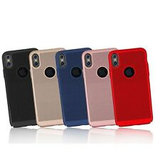Slim Hollow Mesh Heat Dissipation PC Hard Case Cover for iPhone X 8 8 Plus